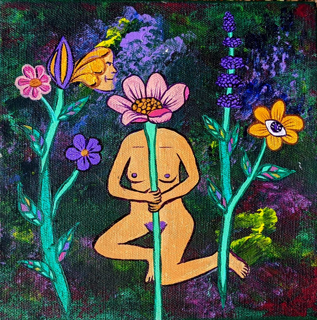 In Bloom -2018 - Acrylic on Canvas