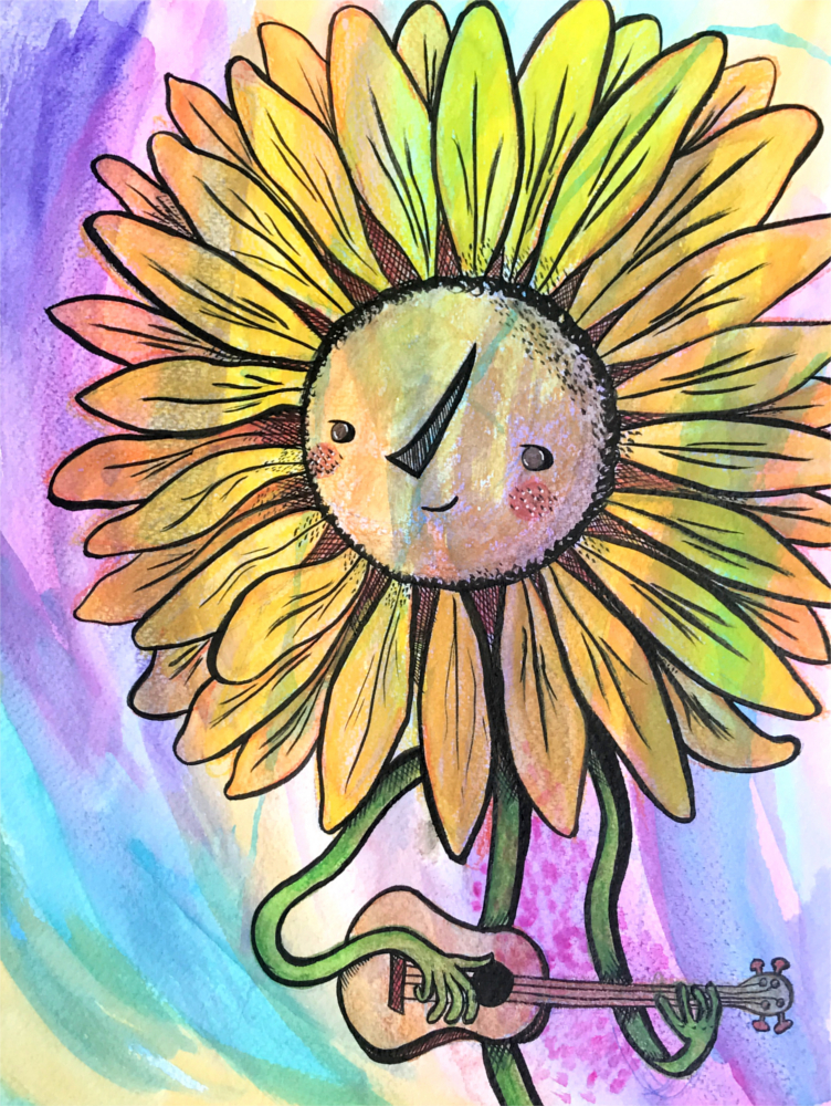 Ukudaisy - 2019 - Watercolor and Ink